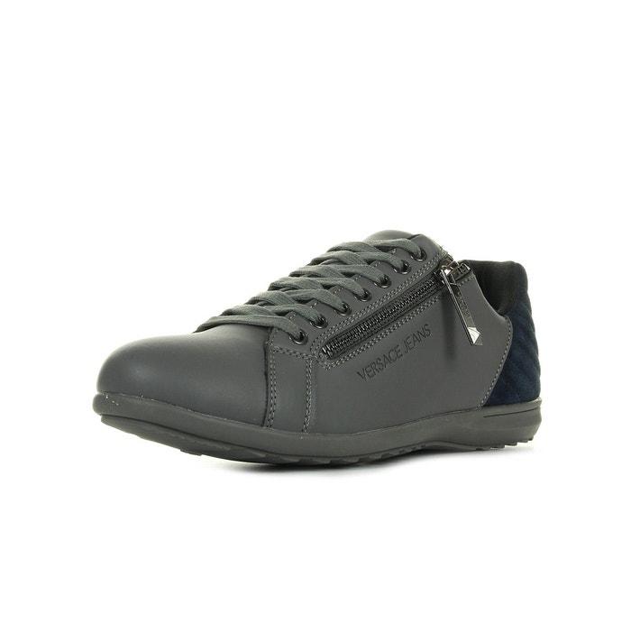 Linea city dis c2 coated suede gris/bleu marine Versace