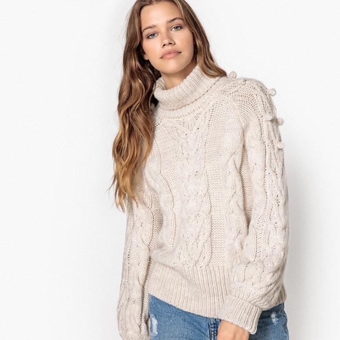 Image Pull con collo a dolcevita, lana La Redoute Collections