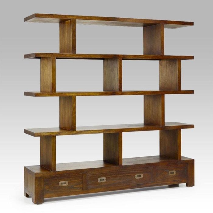 biblioth que arya s parateur irr gulier kha home design la redoute. Black Bedroom Furniture Sets. Home Design Ideas