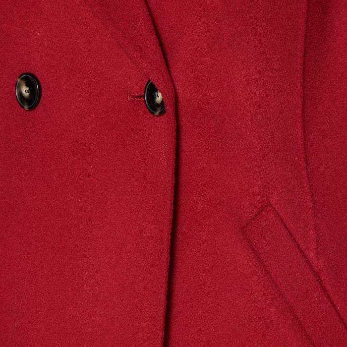 Manteau long marion rouge Gerard Darel   La Redoute