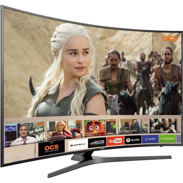 tv led samsung ue49mu6655 incurve couleur unique samsung la redoute. Black Bedroom Furniture Sets. Home Design Ideas