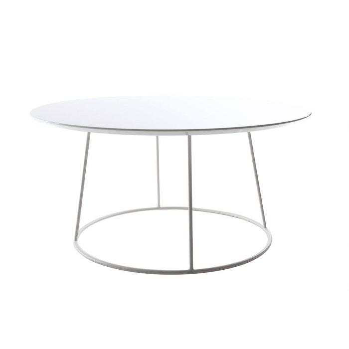 Table Basse Design Blanche Kaly Blanc Miliboo La Redoute