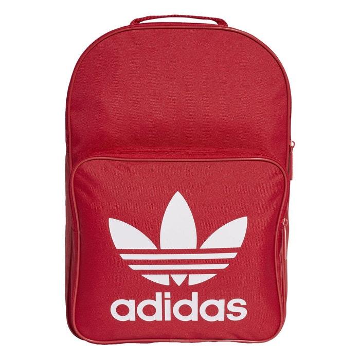 89727f65f7 Sac à dos adidas originals bp classic trefoil - ref. dq3157 rouge Adidas  Originals | La Redoute