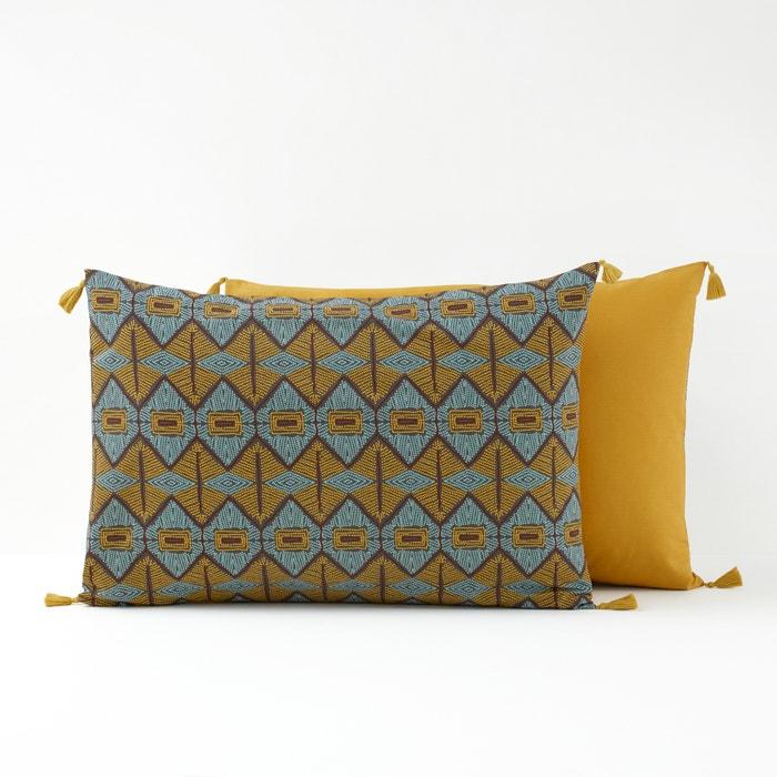Kouban Printed Single Pillowcase  La Redoute Interieurs image 0