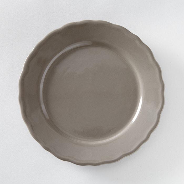 Set of 4 Ajila Scalloped Edge Dessert Plates