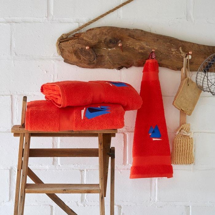 la redoute tapis salle de bain tapis bain brode 50 80 grand voile couleur unique sylvie - La Redoute Tapis Salle De Bain