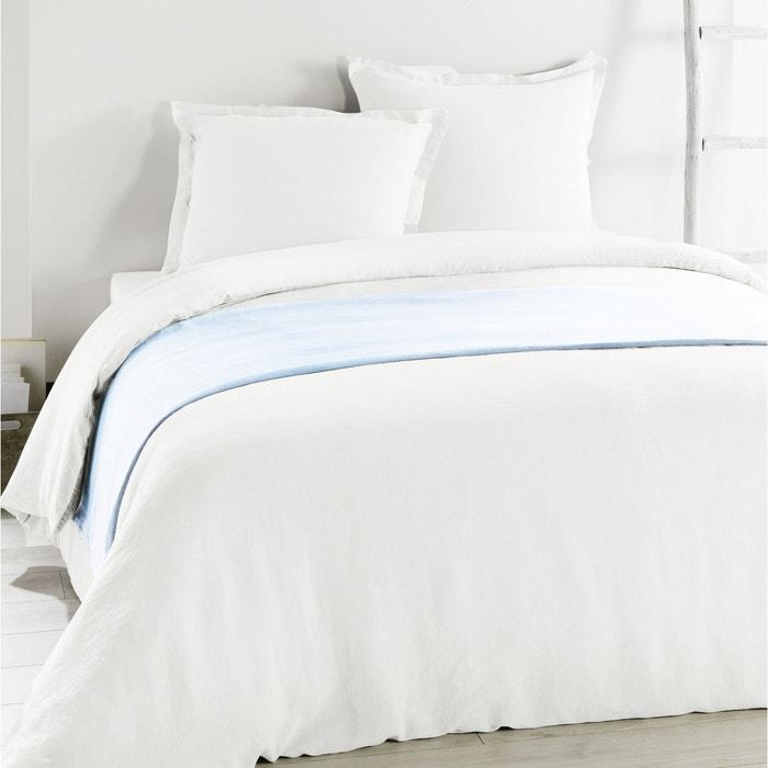 drap housse metis lin coton chantilly c design home textile la redoute. Black Bedroom Furniture Sets. Home Design Ideas