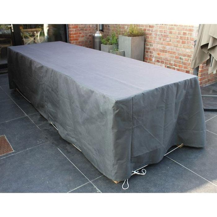Housse de protection pour table de jardin