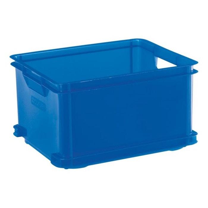 Bo te curver unibox classic 30 l bleu curver la redoute for Boite a couture la redoute
