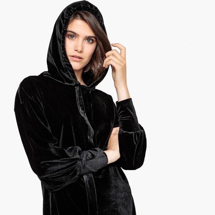 50660b0ecf8 Robe style sweat en velours