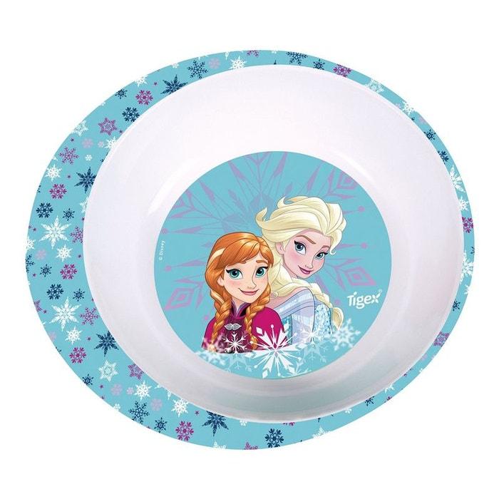 assiette creuse micro ondes la reine des neiges bleu tigex la redoute. Black Bedroom Furniture Sets. Home Design Ideas