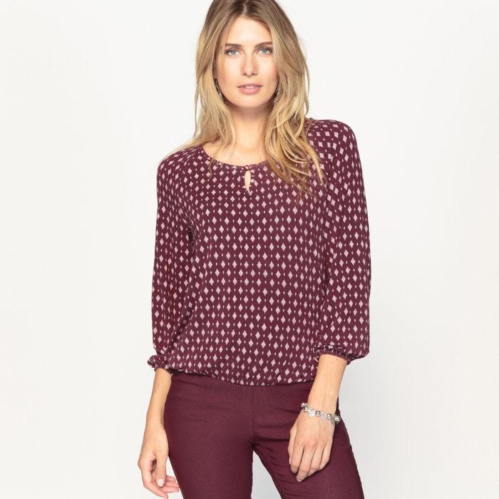 afbeelding Bedrukt T-shirt, soepel tricot ANNE WEYBURN