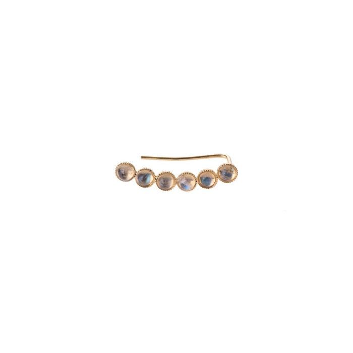 Vente Exclusive Bijou d'oreille doré à l'or 24 carats orné de 6 pierres fines or Sicyone | La Redoute Réduction Fiable Livraison Gratuite En Édition Limitée HQpPw