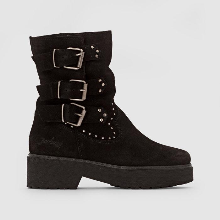 afbeelding Boots in suèdeleer met bndjes BABOON COOLWAY