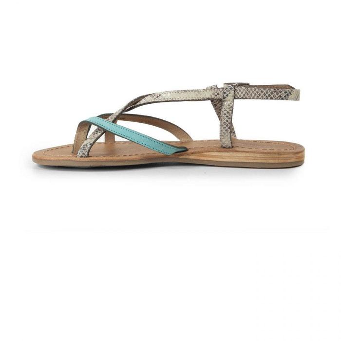 Sandales les tropeziennes bonbon turquoise e17 bleu Les Tropeziennes