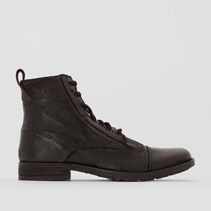 boots en cuir maine lac noir levi 39 s la redoute. Black Bedroom Furniture Sets. Home Design Ideas