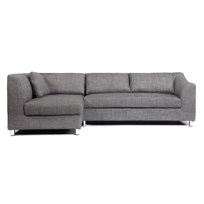 canap d 39 angle miami convertible gauche miliboo la redoute. Black Bedroom Furniture Sets. Home Design Ideas