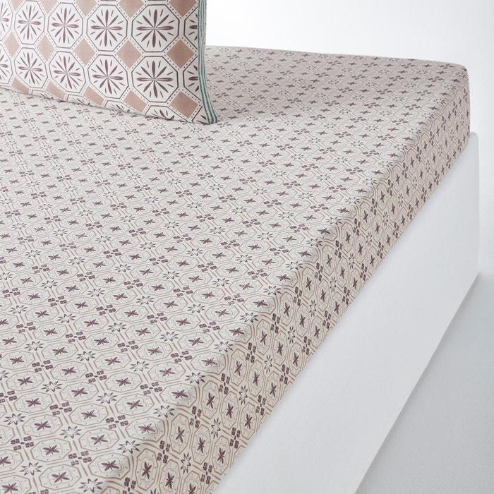 Lenzuolo con angoli in puro cotone SALERNES  La Redoute Interieurs image 0