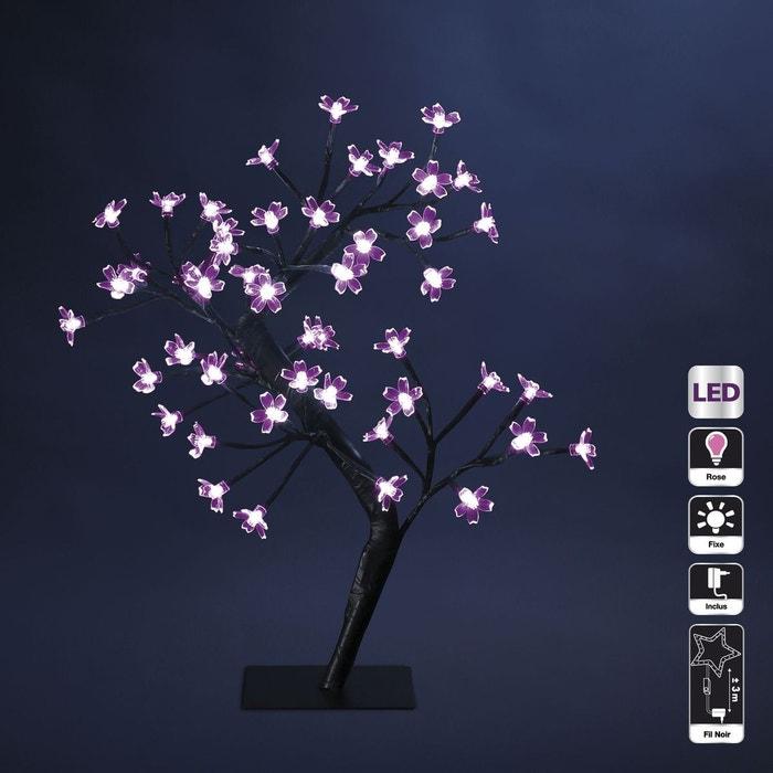 arbre lumineux d 39 int rieur 48 led prunus rose feerie lights la redoute. Black Bedroom Furniture Sets. Home Design Ideas
