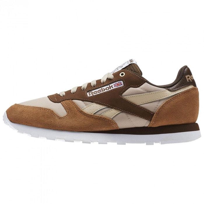 07899f9f38489 Basket reebok classic leather mccs - cm9610 marron Reebok