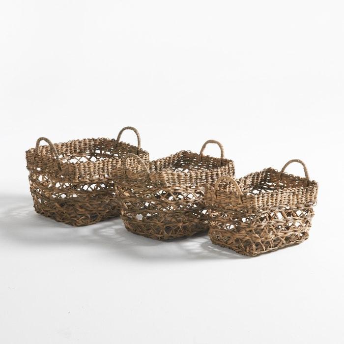 Image Set of 3 Rybatt Decorative Baskets La Redoute Interieurs