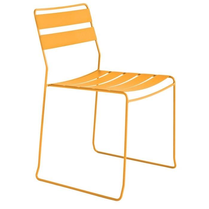 Chaise de jardin métal design Pasadena