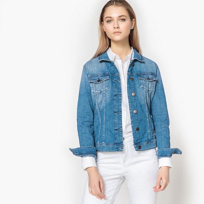Veste en jean coupe droite stone Tommy Jeans