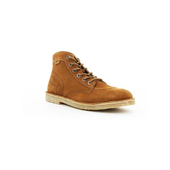 Orilegend Et Homme Cuir Boots Camel Kickers Bottines fUxF8