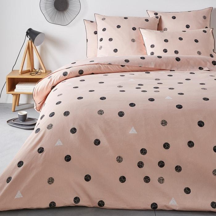 BELLVIK Geometric Dot Cotton Percale Duvet Cover  La Redoute Interieurs image 0