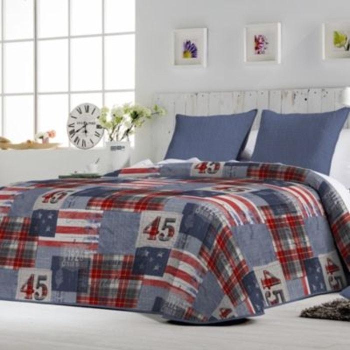 couvre lit charli et ses housses de coussin autre matelsom la redoute. Black Bedroom Furniture Sets. Home Design Ideas