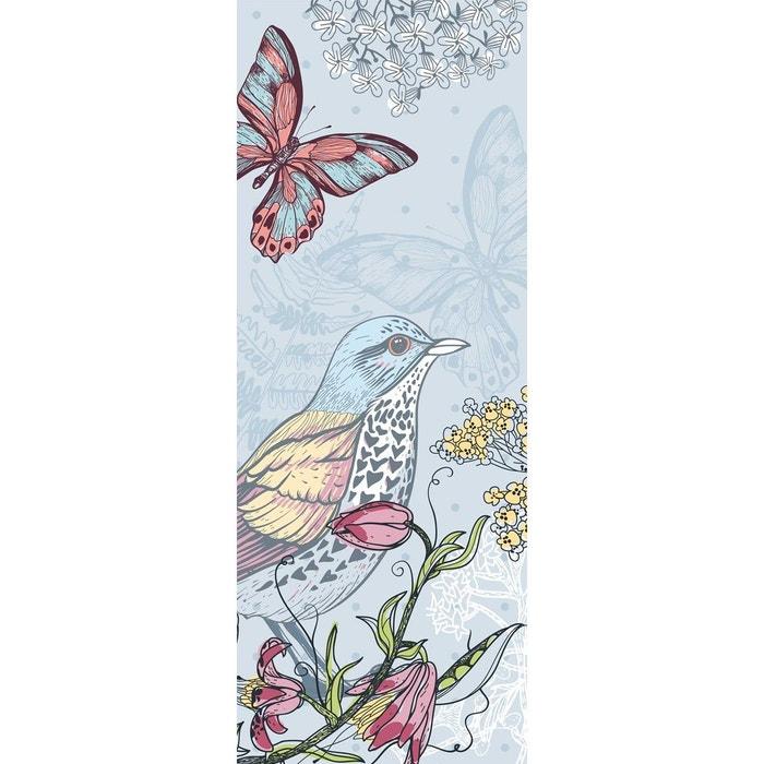 papier peint l unique faune et flore bleu ciel lgd01 la redoute. Black Bedroom Furniture Sets. Home Design Ideas
