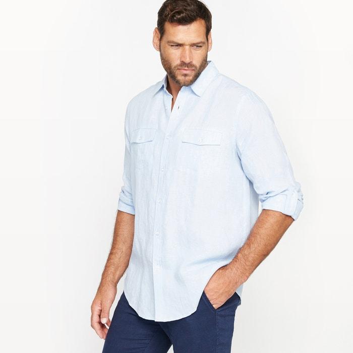 Camicia tinta unita, maniche lunghe  CASTALUNA FOR MEN image 0
