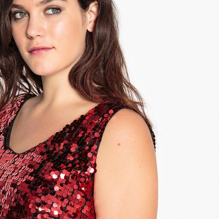 CASTALUNA con Vestido Vestido recto CASTALUNA lentejuelas PnTfIrP8qw