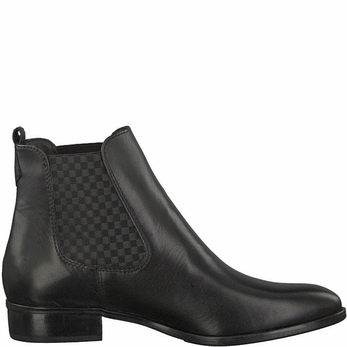 Image Boots pelle Larissa TAMARIS