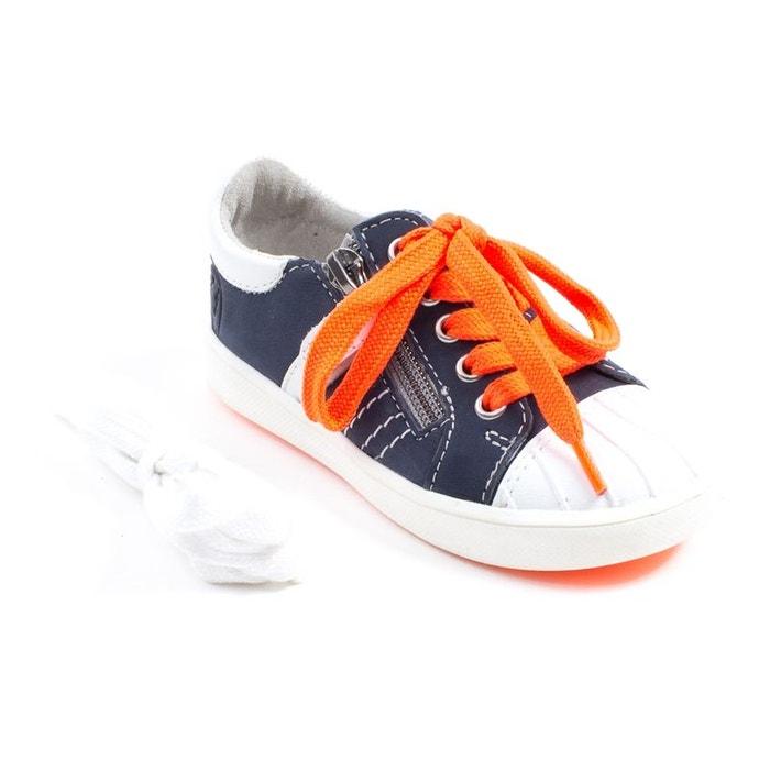 NOUVEAU !! Sneakers cuir GBB MAXANCE Bleu syeHvyvsMo