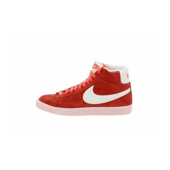 Ordre De Vente Pas Cher Faire Les Courses Pour Basket blazer mid suede vintage rouge Nike r9t4LXT