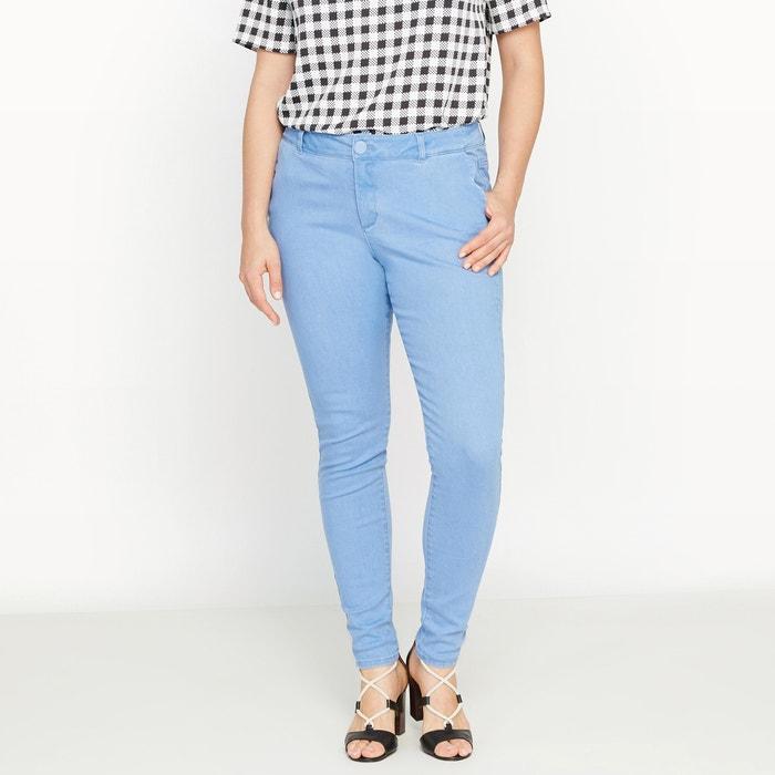 Image Scalloped Pocket Slim Fit StretchTrousers CASTALUNA