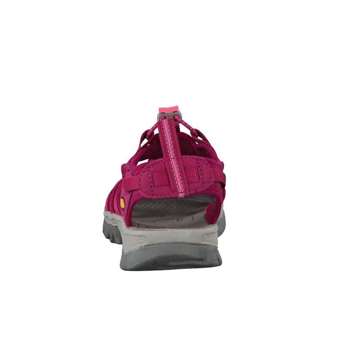 Whisper - sandales femme - rose/rouge Keen