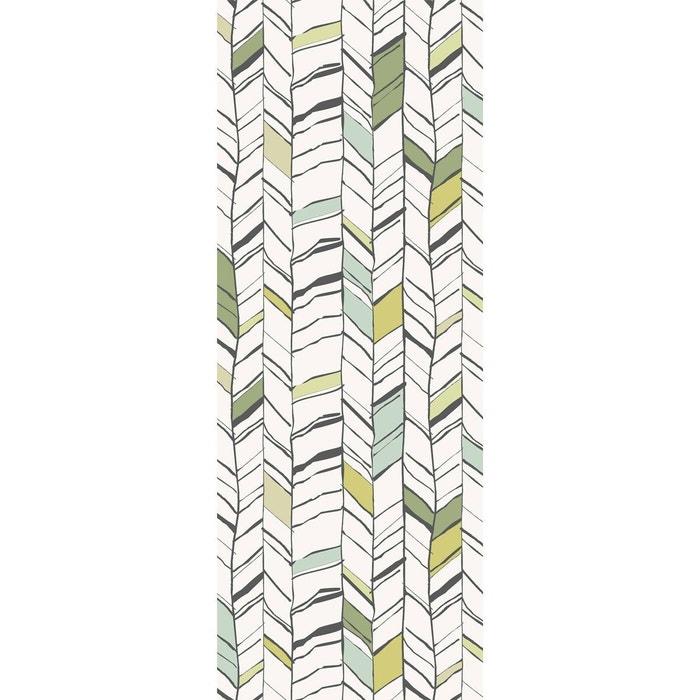 papier peint l unique chevrium vert lgd01 la redoute. Black Bedroom Furniture Sets. Home Design Ideas