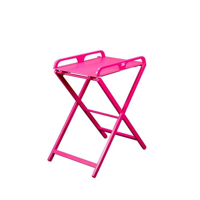 table a langer pliante en bois jade laqu e fuchsia combelle couleur unique combelle la redoute. Black Bedroom Furniture Sets. Home Design Ideas