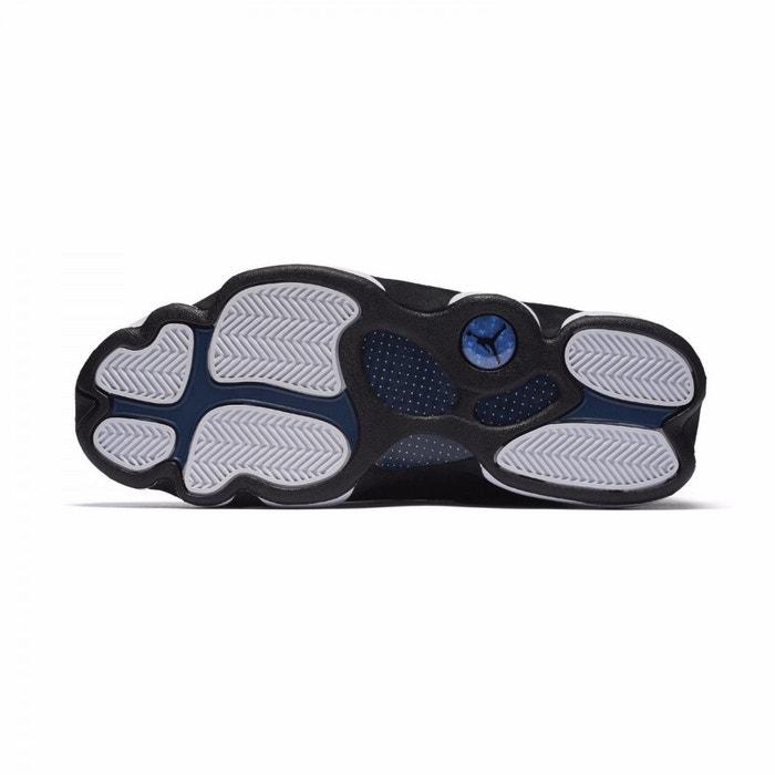 Basket nike air jordan 13 retro low - 310810-407 noir Nike