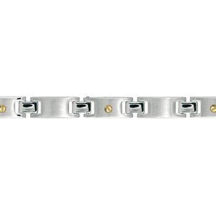 Bracelet homme 21 cm maillon vis or acier inoxydable couleur unique So Chic Bijoux   La Redoute Fourniture Sortie w5MhNu