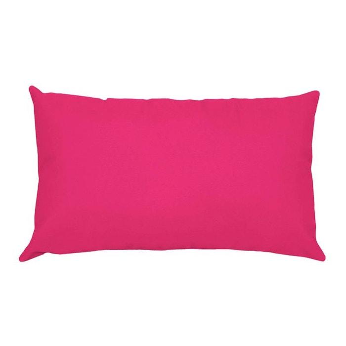 Une taie d 39 oreiller rectangle rose couleur unique storex - Une taie d oreiller ...