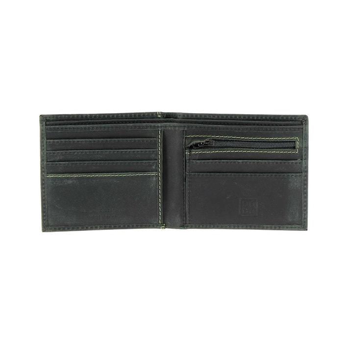La Vente En Ligne Officielle Sortie 2018 Unisexe Portefeuille pour homme vintage en cuir véritable à l'aspect vieilli avec porte R1Dnqs