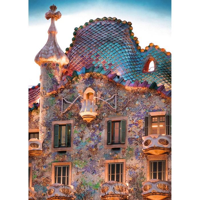 Puzzle 1000 pi ces casa batll barcelone ravensburger - La maison barcelona ...