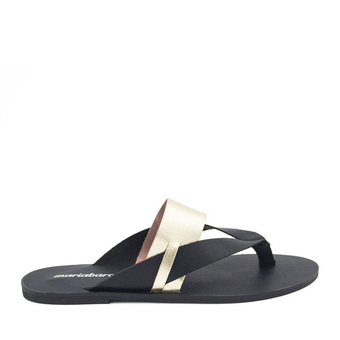 Sandales en cuir cuir Maria Barcelo Prix Bas Frais De Port Offerts 5gICeglUd
