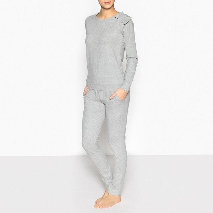 Pyjama style sweat  La Redoute Collections image 0