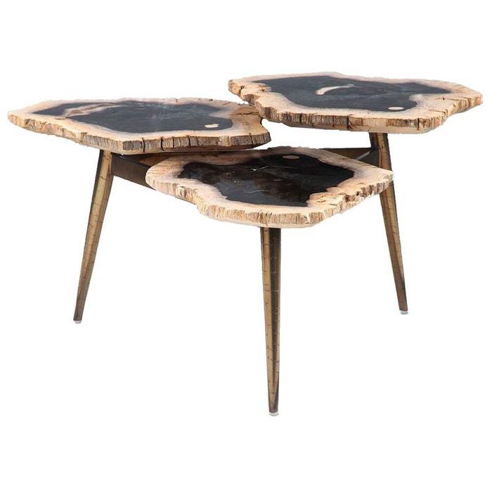 table basse gigogne en bois p trifi gammy kha home design. Black Bedroom Furniture Sets. Home Design Ideas