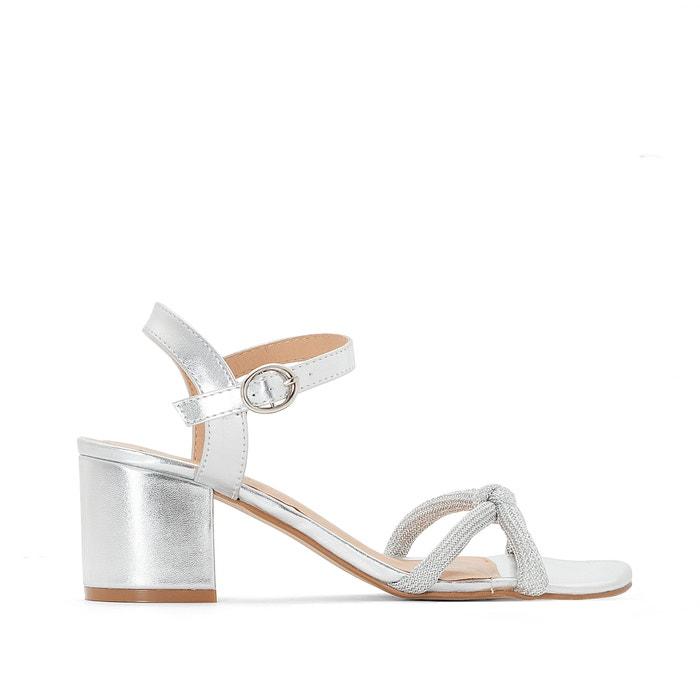 Sandali cinturini cordoncino con paillettes  MADEMOISELLE R image 0