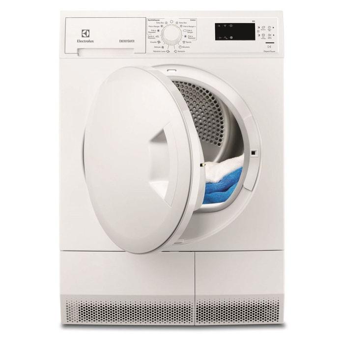 s che linge pompe chaleur electrolux edh3683poe blanc electrolux la redoute. Black Bedroom Furniture Sets. Home Design Ideas